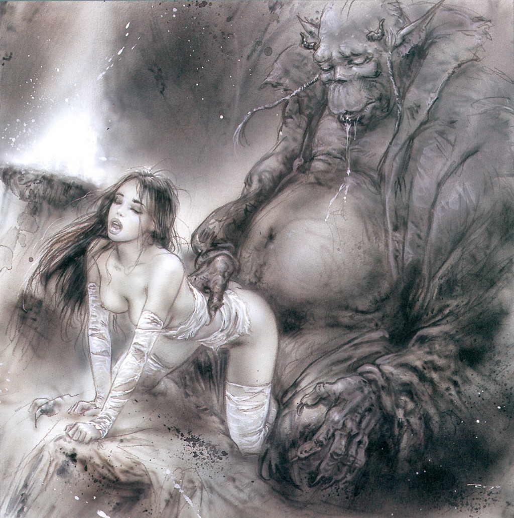 Erotic fantasy monster sex naked pics